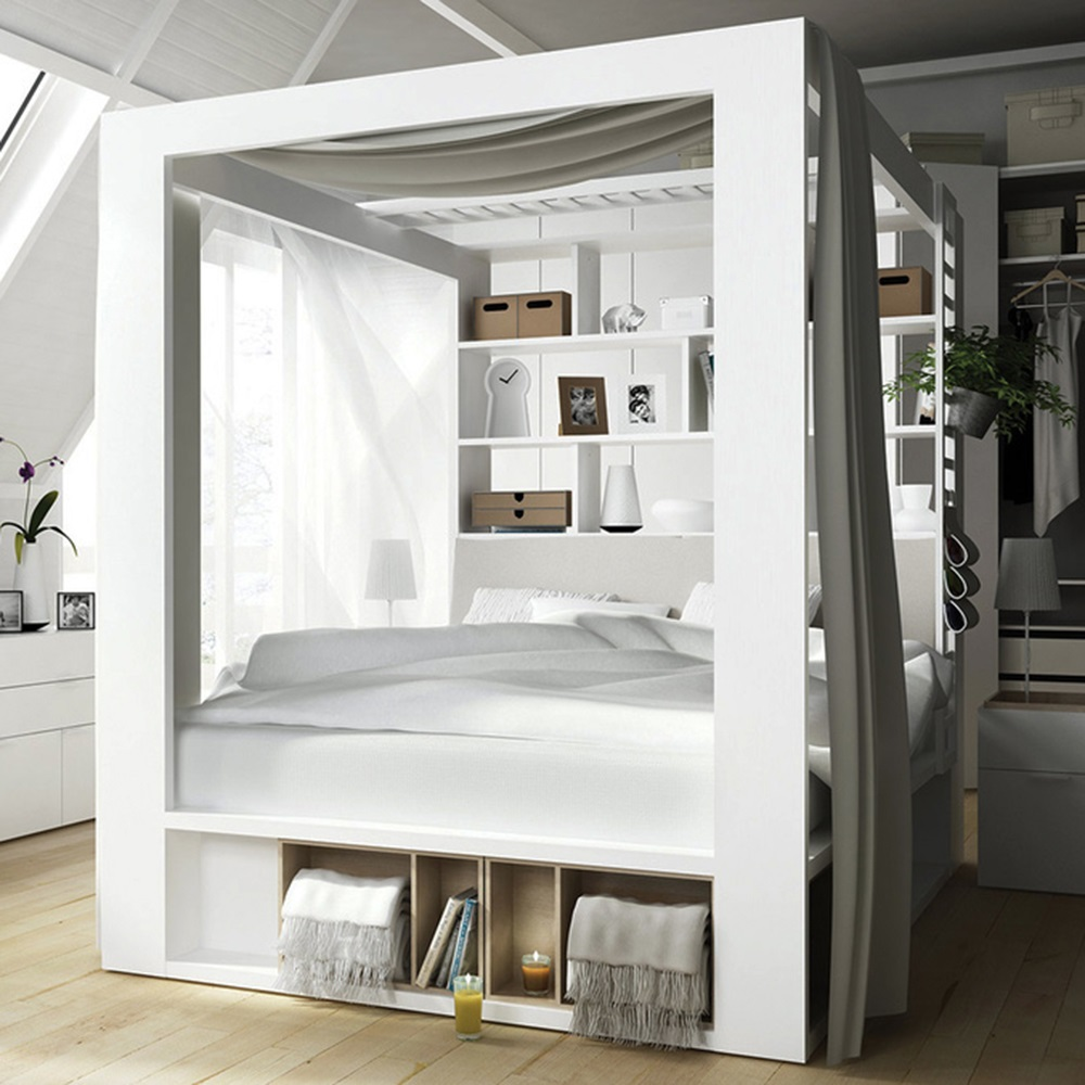 Canopy Storage Bed Best Storage Design 2017