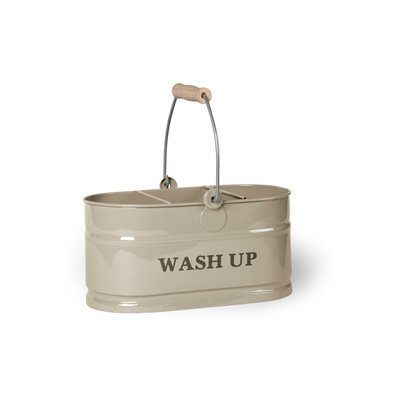 WASH-UP TIDY STORAGE CONTAINER in Clay by Garden Trading