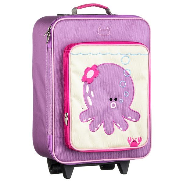 Pink childrens suitcase