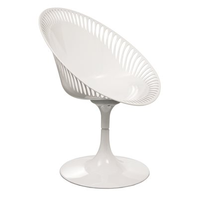 WHITE SENDERO Revolving Chair