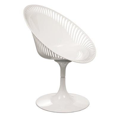 WHITE SENDERO Revolving Chair