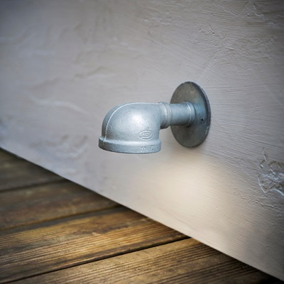 ST IVES WALL MOUNTED PATH LIGHT in Industrial Style