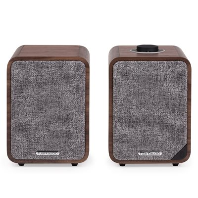 RUARK AUDIO MR1 MK2 BLUETOOTH SPEAKERS in Walnut