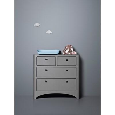 Wonderful ... Wardrobe Dresser Leander Grey Kids Baby Room