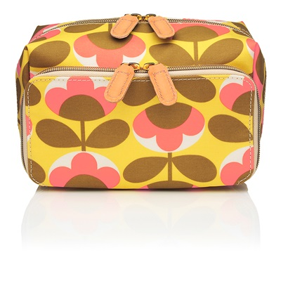 Orla Kiely Medium Wash Bag in Oval Flower