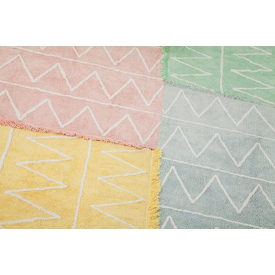 KIDS WASHABLE RUG in Hippy Style