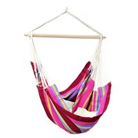 Product photograph showing Brasil Hanging Chair Hammock In Grenadine