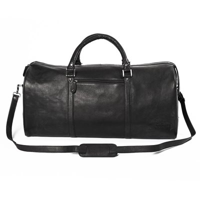WEEKENDER TRAVEL BAG In Black by Adventure Avenue