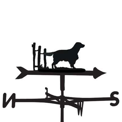 WEATHERVANE in Welsh Springer Spaniel Dog Design