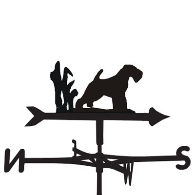 Weathervane in Welsh Terrier Design