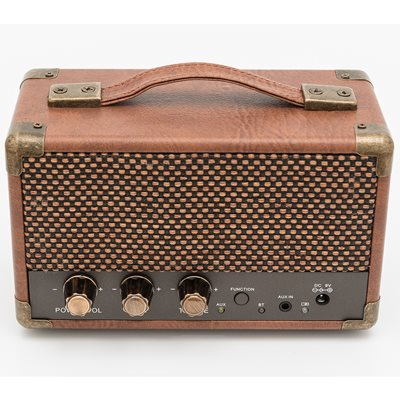 GPO Westwood Mini Speaker in Vintage Brown