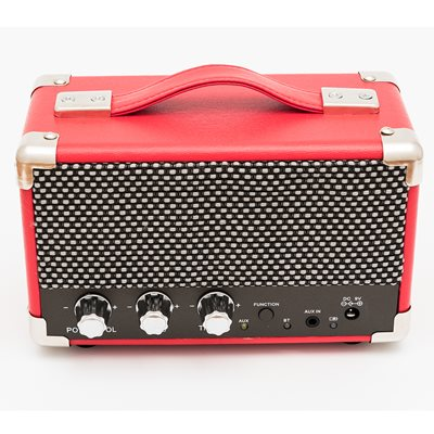 GPO Westwood Mini Speaker in Pillar Box Red