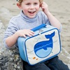 Lunch Bag in Blue with Whale