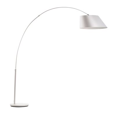 ZUIVER ARC STUDY FLOOR LAMP in White