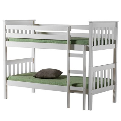 SEATTLE KIDS BUNK BED FRAME in Ivory By Birlea