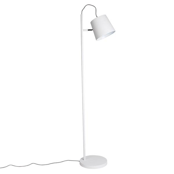 Zuiver Buckle Head Floor Lamp in White