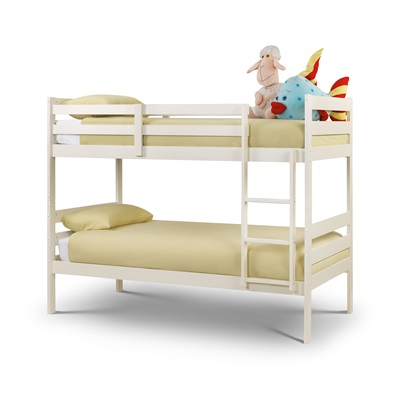 MODENA KIDS BUNK BED in White by Julian Bowen