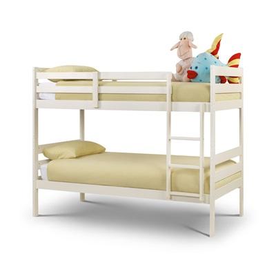 MODENA KIDS BUNK BED in White by Julian Bowen