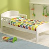 White Wooden Childrens Bed