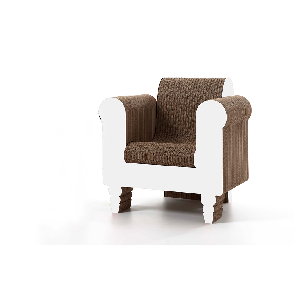 Comfortable cardboard chair designs - Modern Styled Chairs Stylish Armchairs