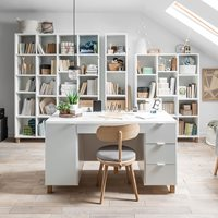 Vox Simple Large Desk - White