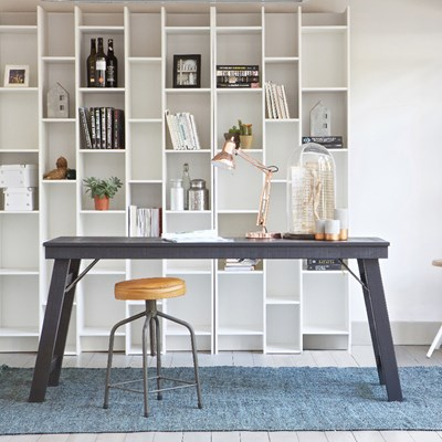 Expand Extension Cabinet In Pine White - Home Office | Cuckooland