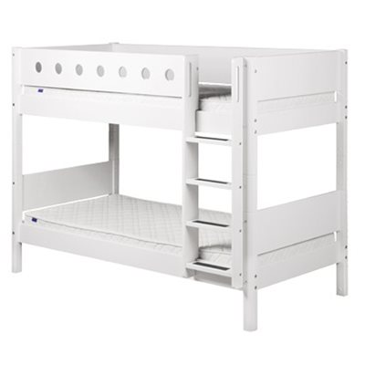 MODERN BUNK BED in White by Flexa