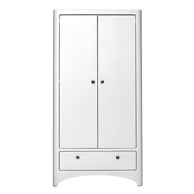 LEANDER Wardrobe With 2 Doors and 1 Drawer