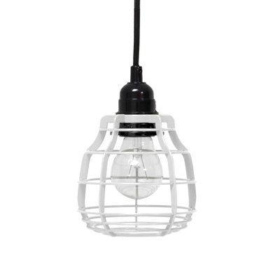 INDUSTRIAL METAL PENDANT LIGHT in White