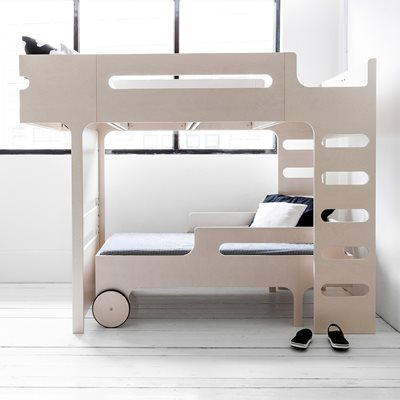 F & R DESIGNER KIDS BUNK BED in Whitewash