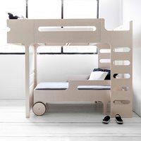 F & R DESIGNER KIDS BUNK BED in Whitewash