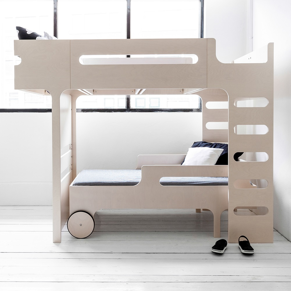 White Luxury Bunk Bed Jpg