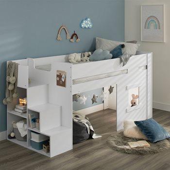 marlowe mid sleeper bed