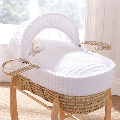 PALM MOSES BASKET in Marshmallow Design