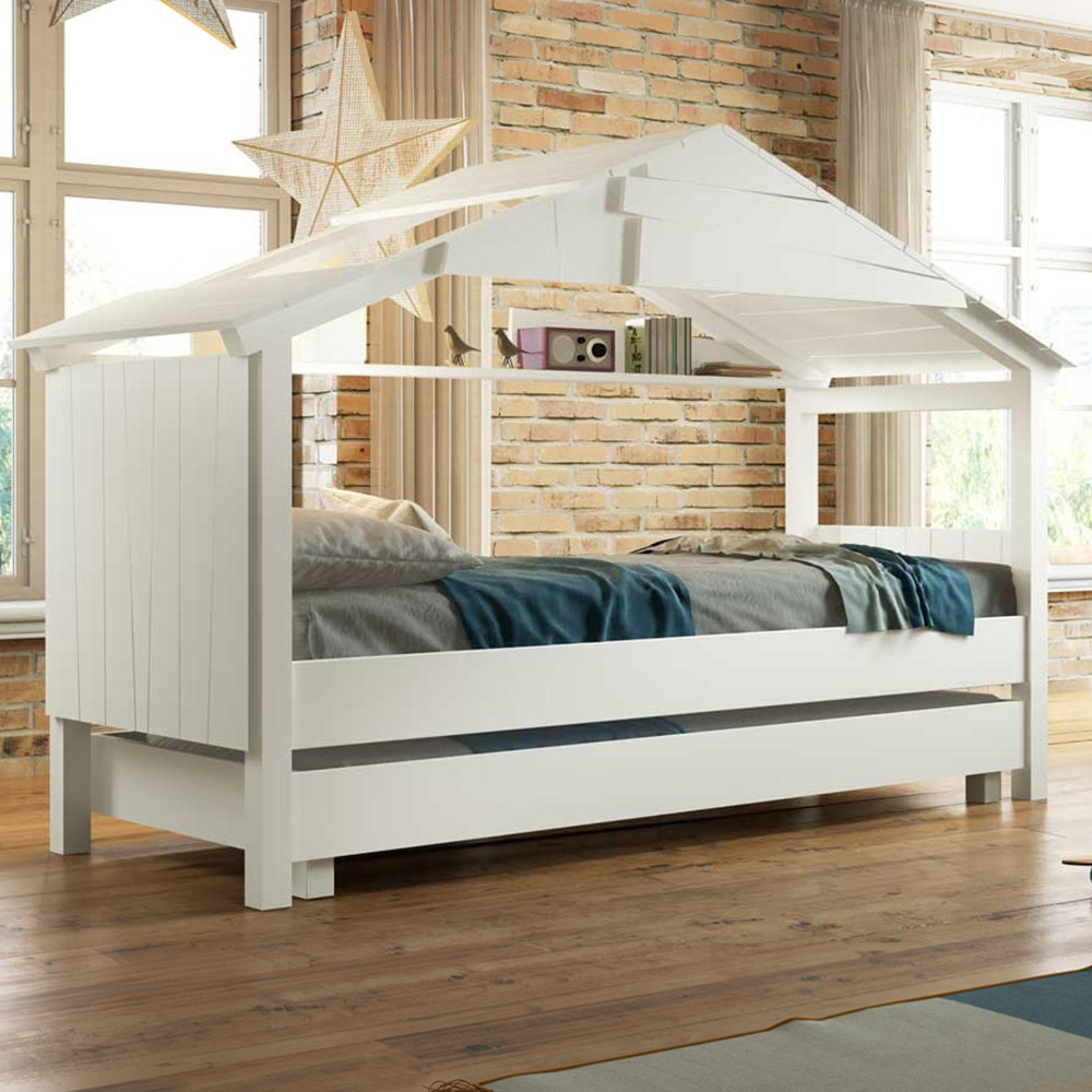 Treehouse Single Trundle Bed