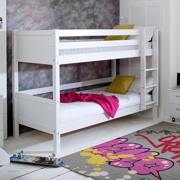 Nordic Kids Bunk Bed 1 in White