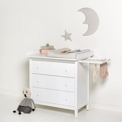 OLIVER FURNITURE SEASIDE NURSERY DRESSER in White