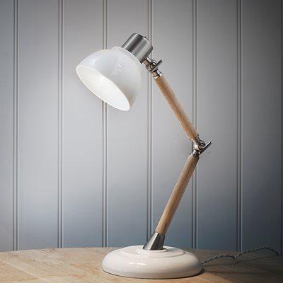 LEDBURY VINTAGE DESK LAMP in Porcelain