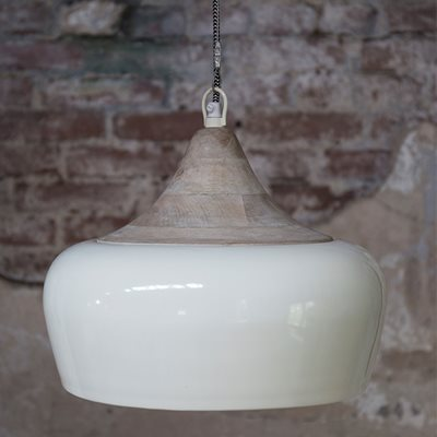COCO INDUSTRIAL CEILING LAMP in Ivory