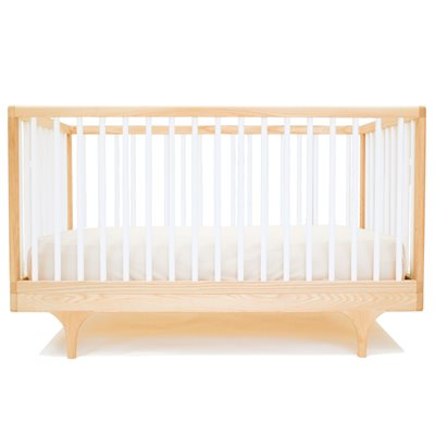 KALON STUDIOS CARAVAN COT & TODDLER BED in White