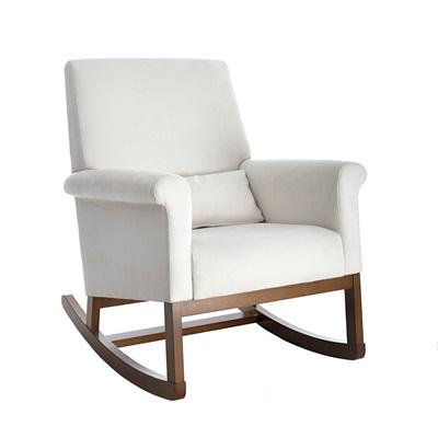 olli ella ro ki rocker nursery chair in snow nursing chairs cuckoo