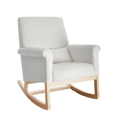 Olli Ella Ro Ki Rocker Nursery Chair In Snow Nursing