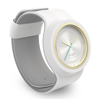 AIGHT 1AM DESIGNER SLAP WATCH in Snowball White