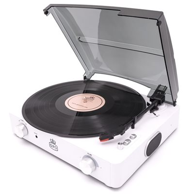 GPO STYLO II RECORD PLAYER in White