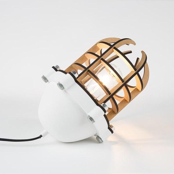 Navigator Table Lamp in White