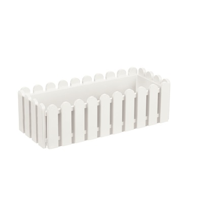LANDHAUS ORIGINAL WINDOW BOX PLANTER in White