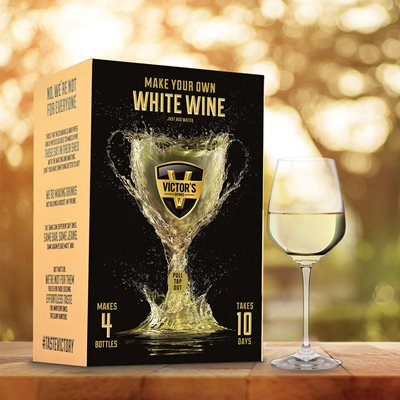 VICTOR'S DRINKS WHITE WINE Making Kit