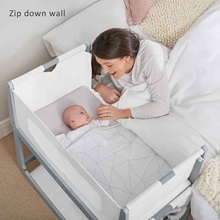 White-and-Dove-Grey-Bedside-SnuzPod-Cot-with-Zip-Down-Sides.jpg
