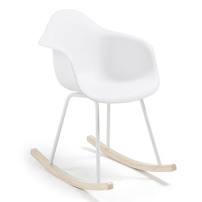 KENNA PLASTIC MOULDED ROCKING CHAIR