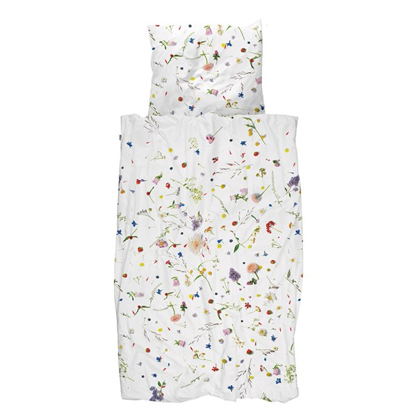 SNURK Childrens Flower Fields Petal Duvet Bedding Set